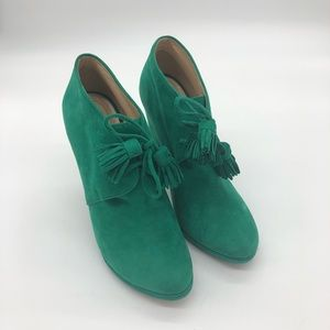 EUC Cole Han Jen Oil Chelsea Collection Booties